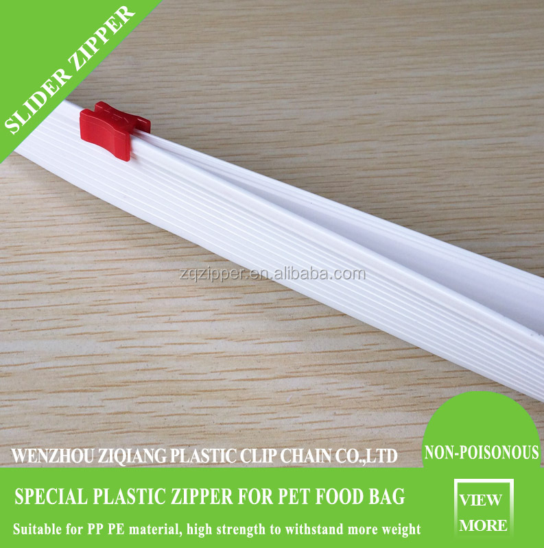 New production slider zipper for triangle sealing bag /plying-up bag Manufacturer Directory
