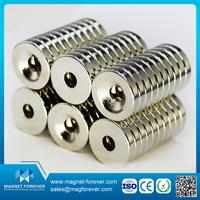high quality permanent pot neodymium round base magnet