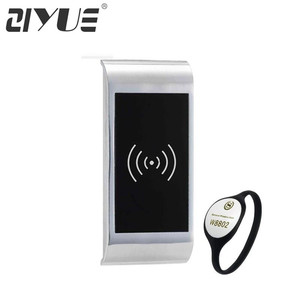 Waterproof Digital Rfid Card key Electronic Locker Lock for Spa with Free Bracelet Card Key EM126