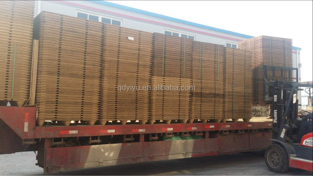 4-way entry compressed wooden Paletten manufacturer