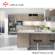 gorgeous design idea modern melamine finish RTA kitchen cabinets