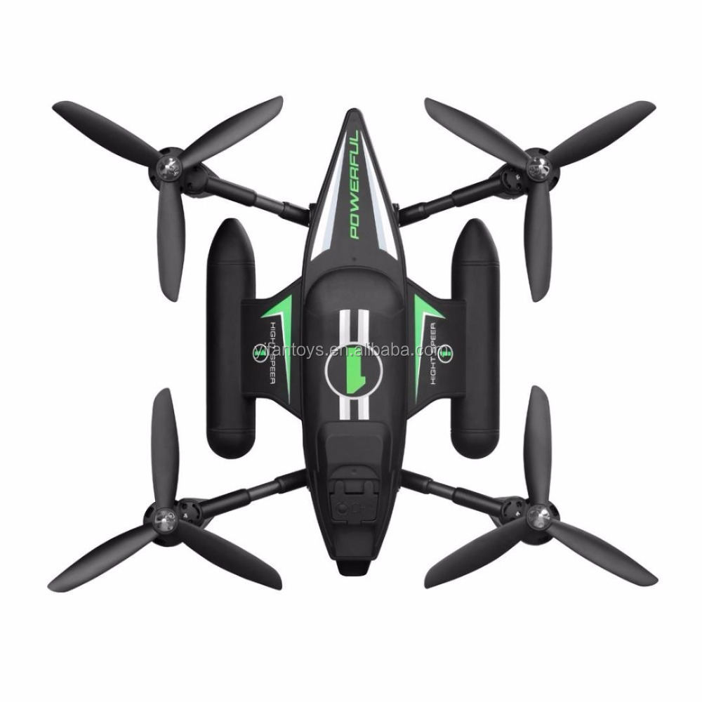 WL Q353 Newest 3 IN 1 2.4G 6-Axis Air-Ground-Water RC Quadcopter Fly Ship Waterproof Quadcopter Drone