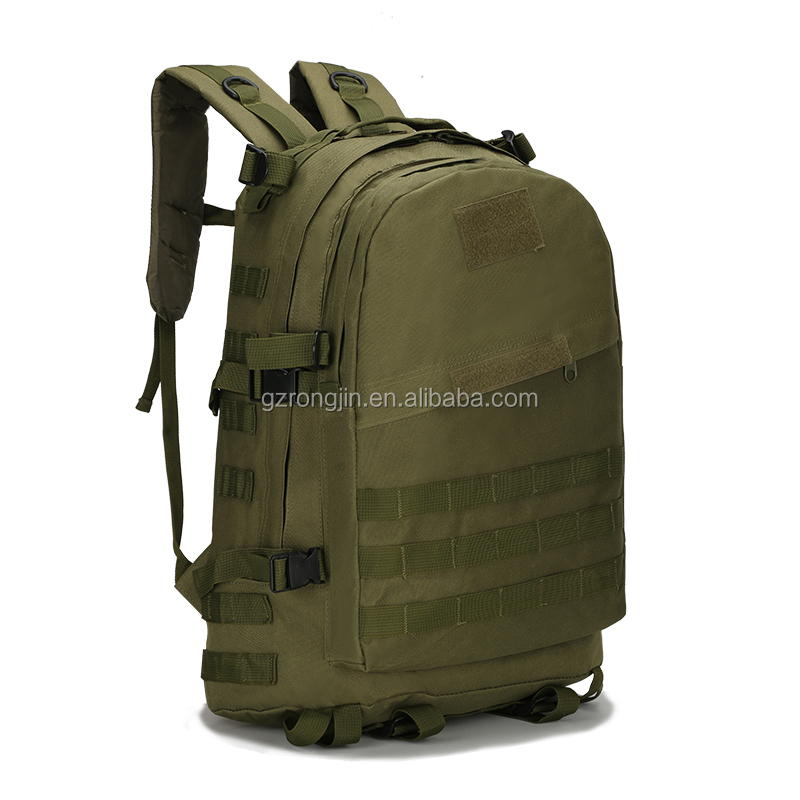 Factory OEM Mountaineering Tactics Backpacks 3D Military Nylon Waterproof Male Backpack Army Camouflage Travel School Bag