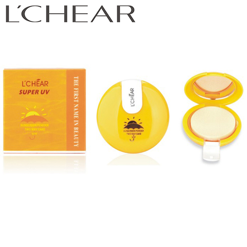 LCHEAR brand custom logo OEM women cosmetics waterproof powder pressed makeup foundation palette