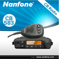 Nanfone CB583 New design cb radio signal amplifier AM/FM 8W ASQ 10 meter cb radio Muti frequency radio cb