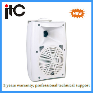 Professional Audio 50W 100V Outdoor wall mount radio speakers