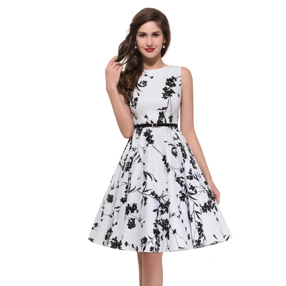 Grace Karin Knee Length Sleeveless Cheap Retro Vintage 50s Cotton Big Size  Dress - Buy Cheap Plain Cotton Dresses,Knee Length Dresses Plus Size,6xl ...