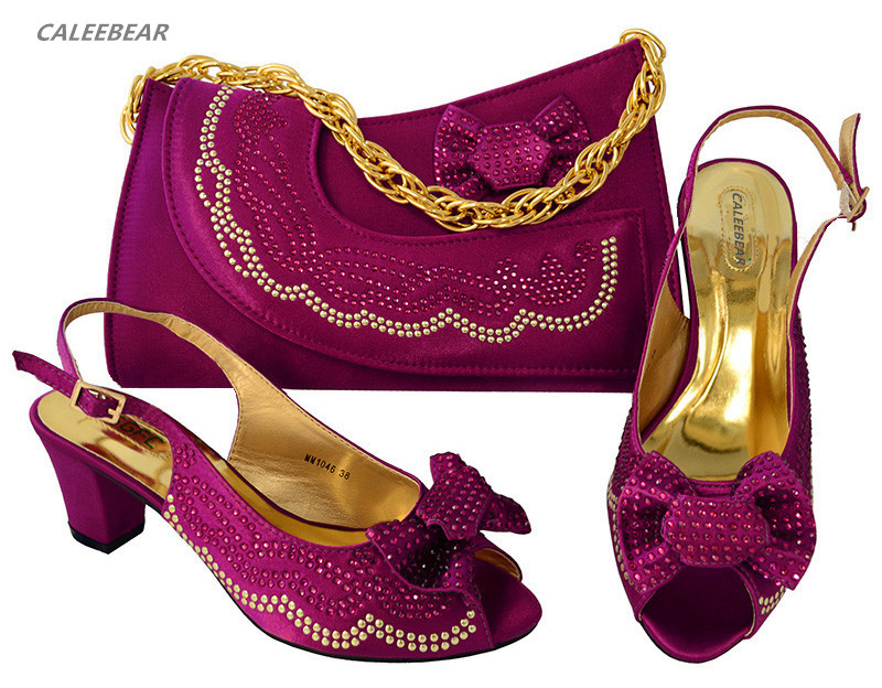 Yellow Wholesale shoes and Party women diamond bag to shoes match For bag Color match casual to rAH5qrx