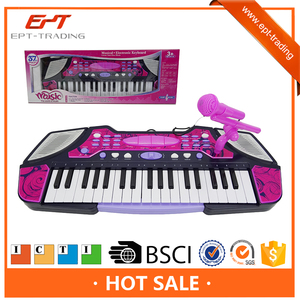 Electronic musical keyboard electronic piano toy bass guitar, children notes toy piano keyboard
