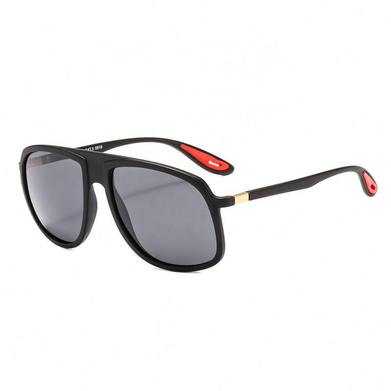 Shades lunettes de soleil Polarized Mens Pilot Oversize Sunglasses 2019, Custom colors