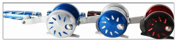 Colourful 5:1 KARASU CNC carbon fiber washer fishing jigging reel(S400B)