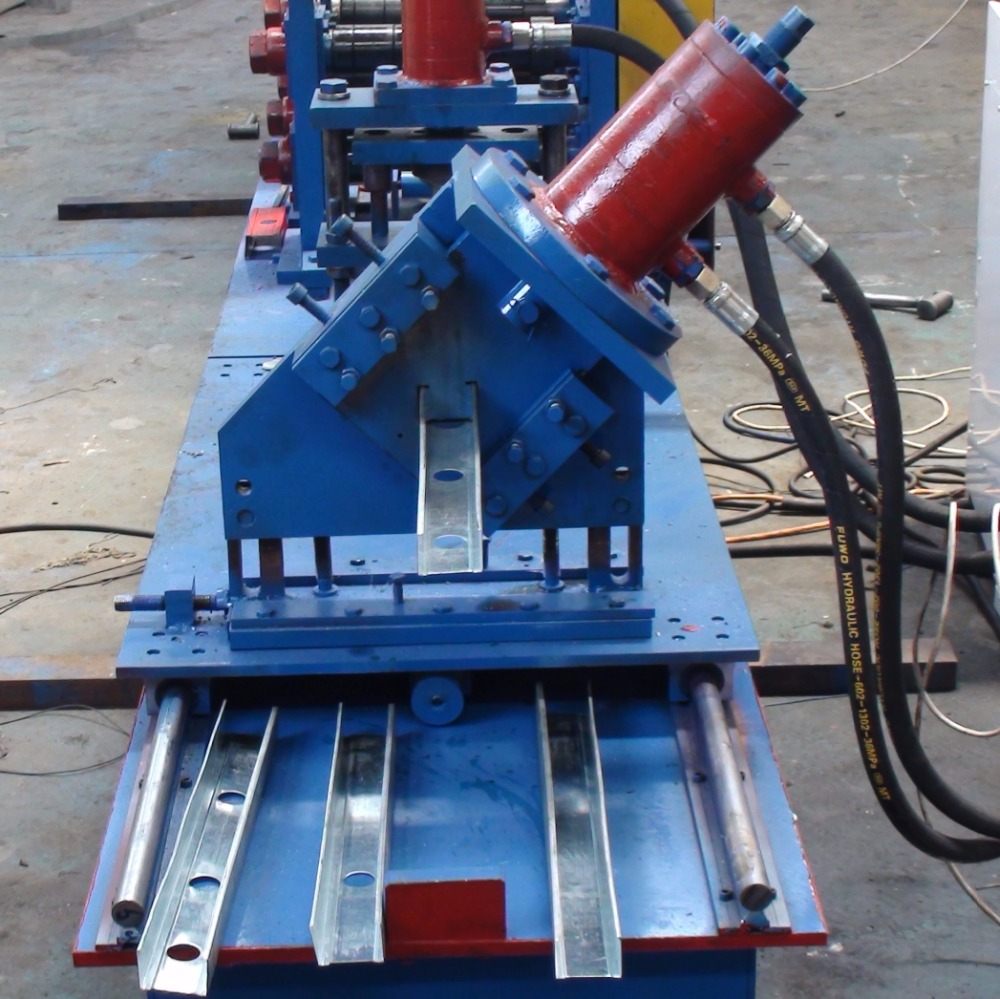 Metal Stud And Track Roll Forming Machine, Metal Stud And Track Roll ...