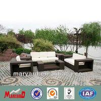 outdoor poly rattan furniture Foshan sofa set