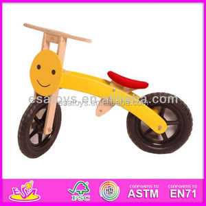 2015 cute design used kids bicycle,children wooden bike with twe wheels WJ276392