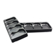 Black Disposable Plastic Blister PET Tray Packaging toy blister packaging