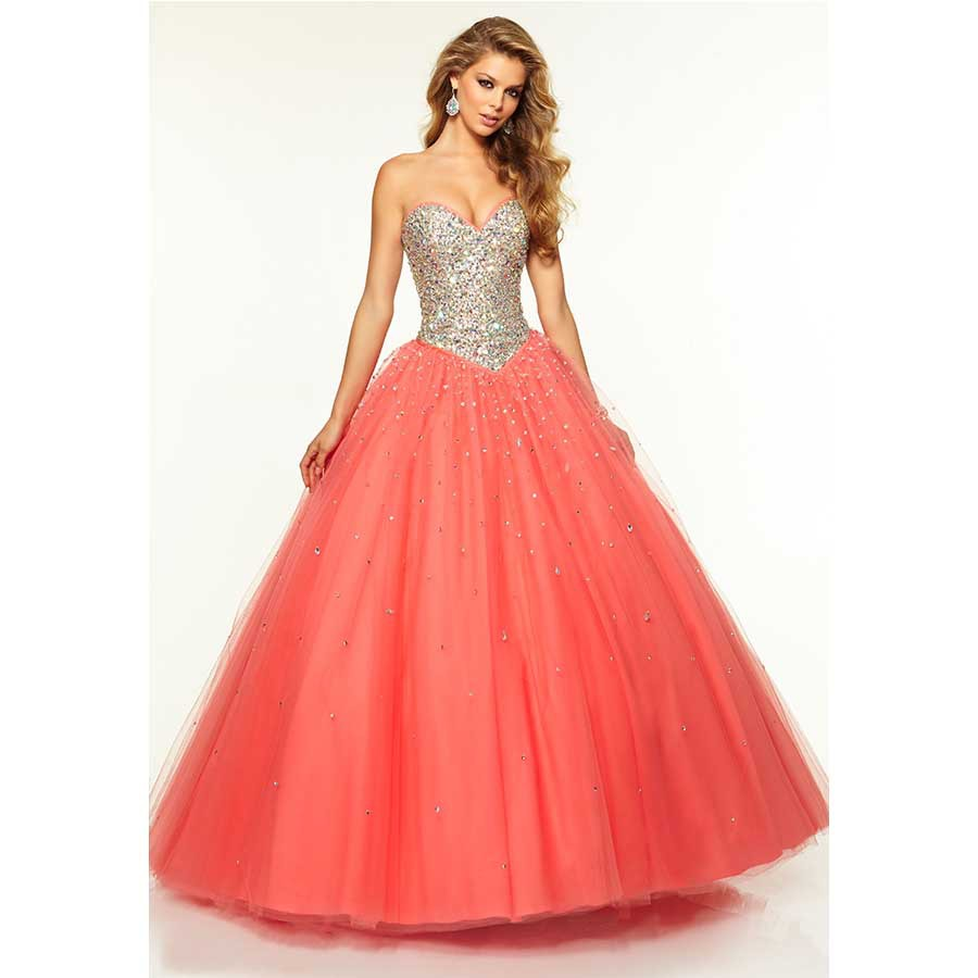 Cheap Peach Colored Ball Gowns, find Peach Colored Ball Gowns deals ...
