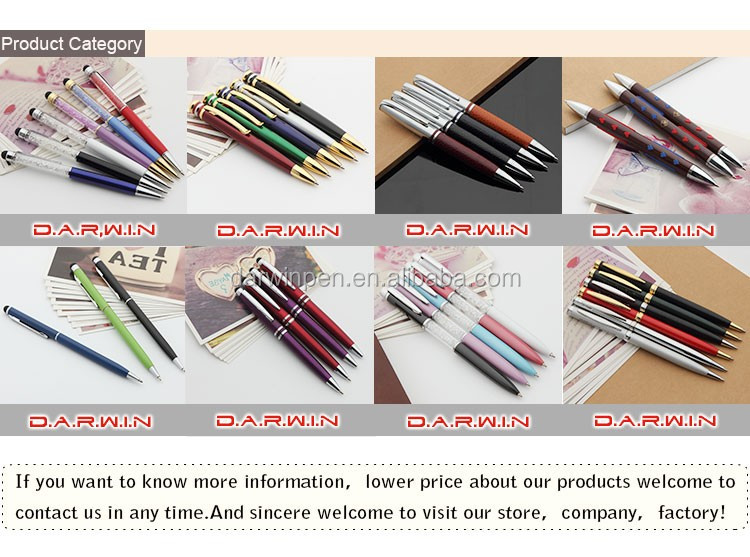 Mini lanyard screen touch stylus metallic gekleurde screen touch trek plastic ad banner pen
