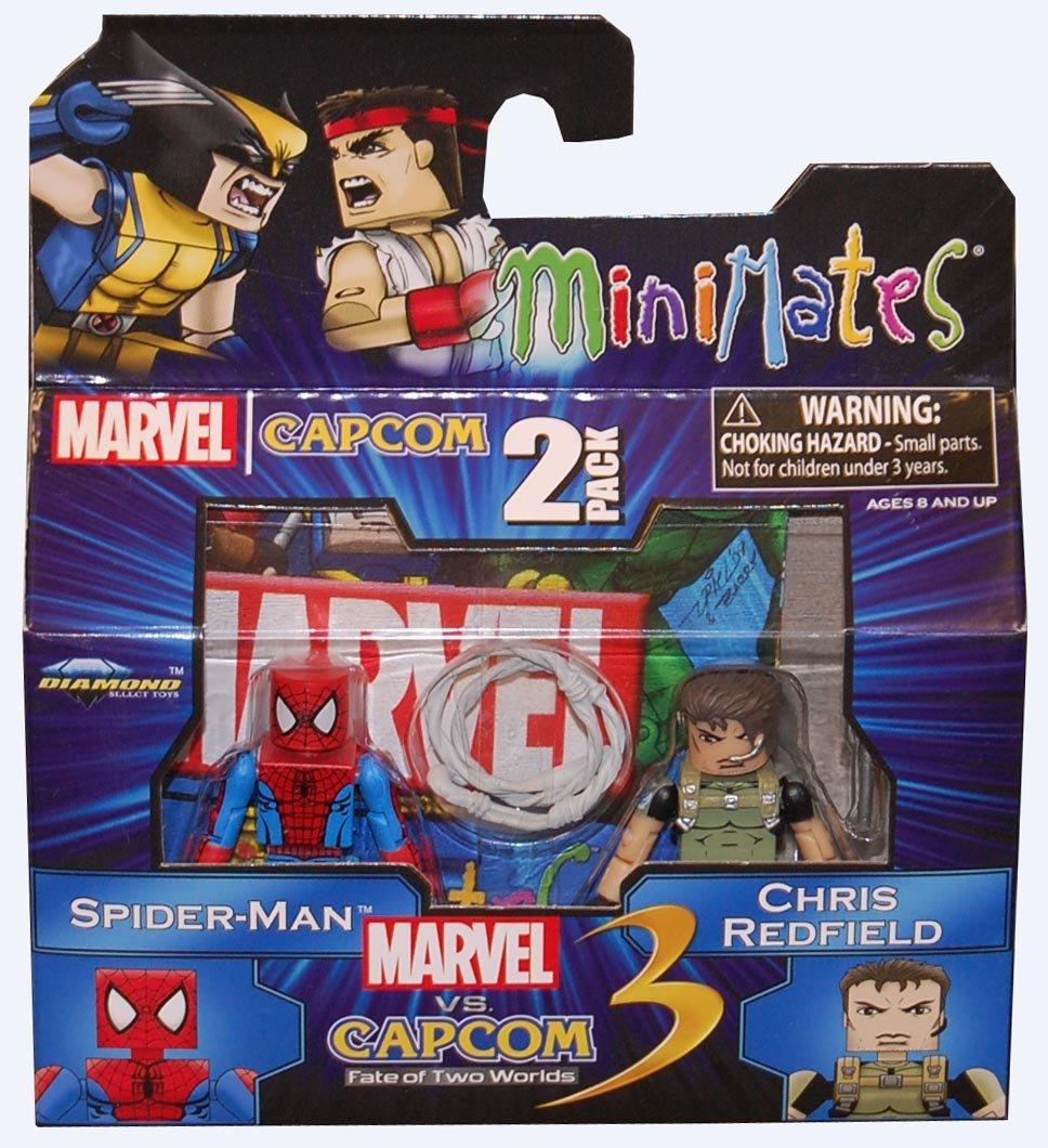 Ryu Diamond Select Toys Marvel Vs Capcom 3 Minimates Series 2 Exclusive Mini Figure 2Pack Sentinel Vs