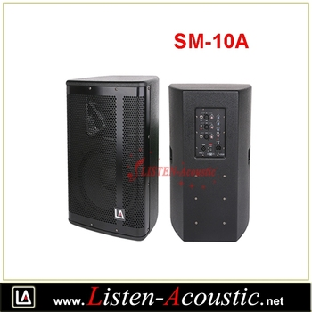 New Design 10 Inch Sound System Active Pa Speaker Box Sm-10a