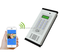 GSM cheap wireless intercom wireless building Access intercom K6