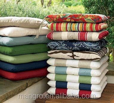 Muebles de patio al aire libre cojines, 100% solución teñido de ...