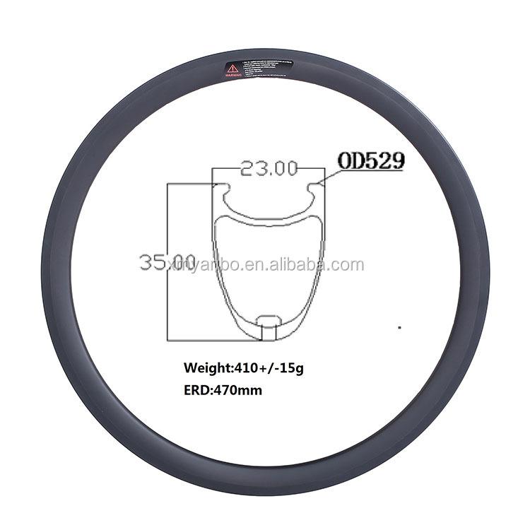 24 520 23 wide 35 deep light carbon balance bicycle wheel фото