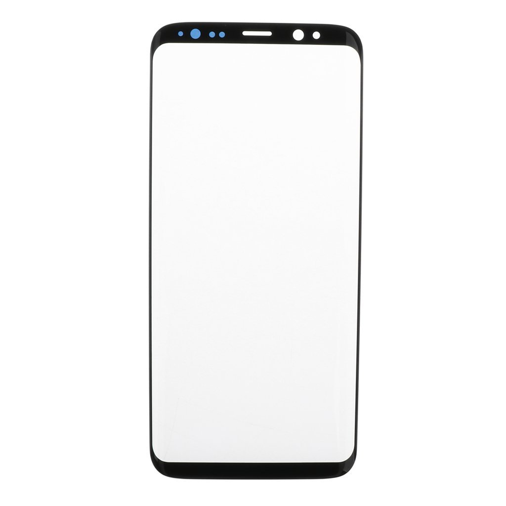 Jili Online For Samsung Galaxy S8 Screen Replacement, Front Outer lens Glass Screen Replacement Repair Kit For Samsung Galaxy S8 (Galaxy S8 5.8'- Black)