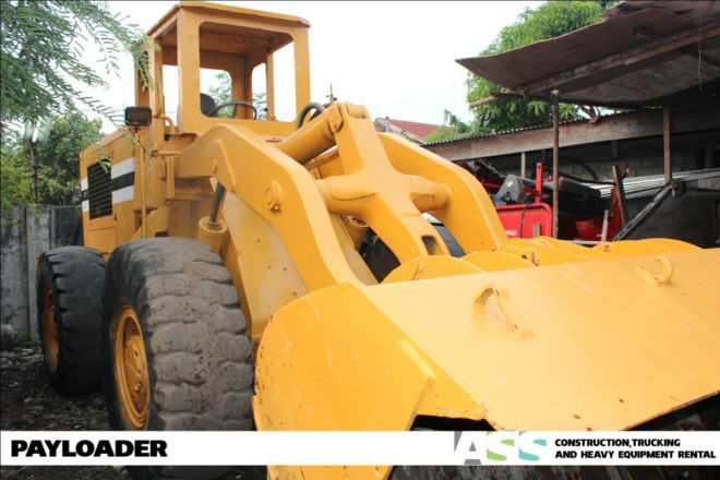 Payloader Heavy Equipment for Rent