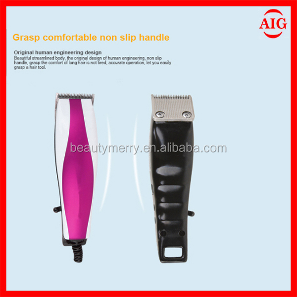 Hot selling baby plastic kids electirc hair clipper
