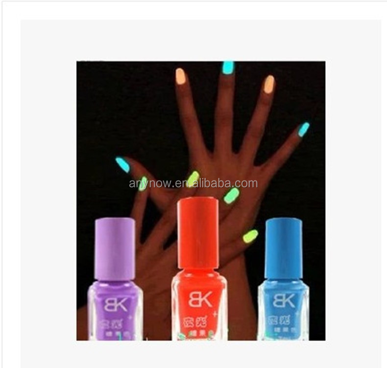 20 Colors quick dry candy color women night luminous party use nail polish