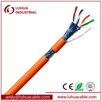 100 ohm Network cable SFTP CAT6 Lan Cable