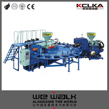 Full Automatic Two Color Rotary Pvc Air Blowing And Jelly Shoe Injection Molding Machine EK7212PC