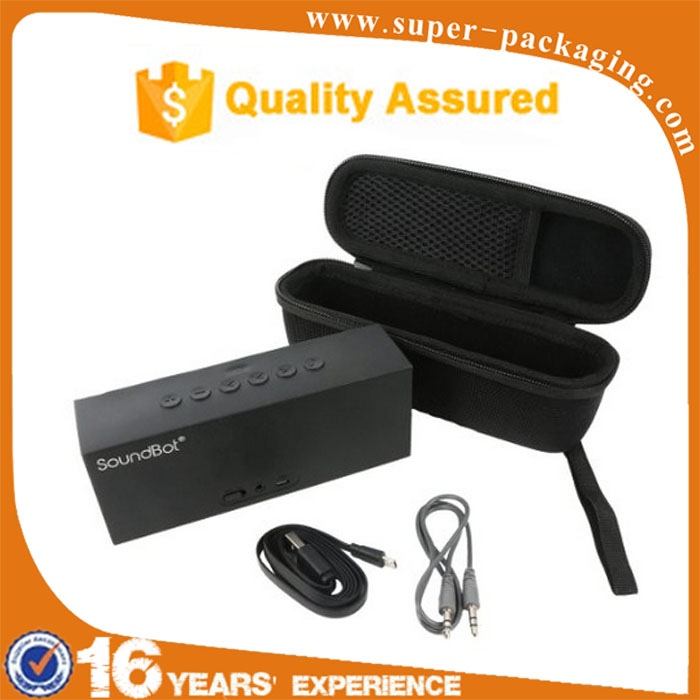 2016 New Product Storage Carrying Hard EVA Travel Case for Bluetooth Portable Wireless Speaker