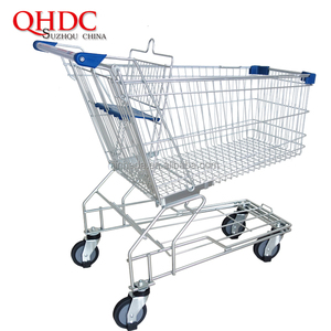 Suzhou QHDC shopping buggy super market trolly