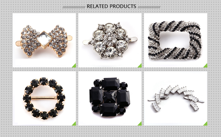 Wenzhou KML Promotion zinc alloy elegance silver rainbow buckles for shoe accessory