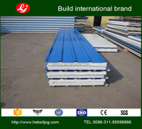 insulated roof sheeting expanded polystyrene foam sandwich panel