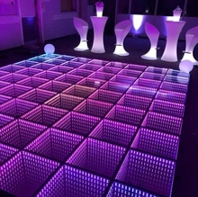 20x20ft 3d infinity led 춤 층 딥 터널 effect dj 밤 club disco stage 빛