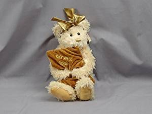 TEDDY BEAR KELLY GET WELL SOON WITH GOLDEN SOFT PILLOW PLUSH STUFFED ANIMAL TOY