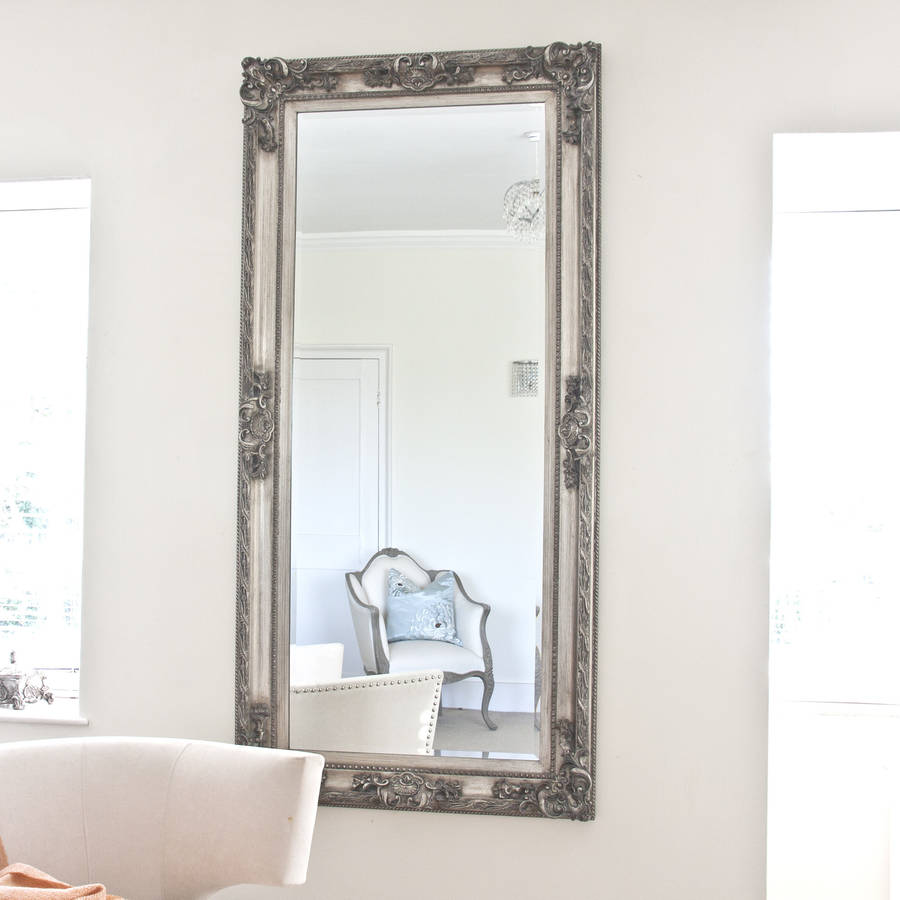 large <strong>vintage</strong> mirror antique wall <strong>frame</strong>