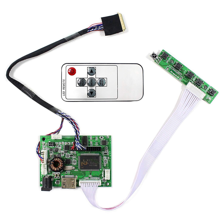"HDMI Audio Input LCD Controller Board For 14"" HT140WXB B140XW03 15.6"" LP156WH2-TL LTN156AT02 1366x768 40Pins LCD Screen"