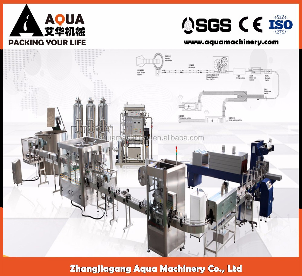 Small business of plastic bottle water production line for sale
