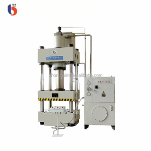 4-post Hydraulic Press Machine make brake pads