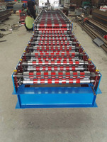 Fully automatic cold forming roll shutter door forming machine