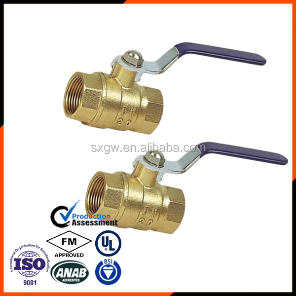3 pcs Bronze ball Valve