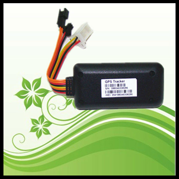 Small Gps tracker with engine ignition alarm with fuel consumption statistics