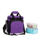2018 Hot Selling Wholesale 12 Cans Beer Frozen Lunch Cooler Bag For Family ,Pure Purple