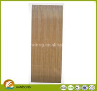 Ash Veneer door skin plywood / MDF molded and flat door skin 2150mm x 770mm/870mm/970mm x 3mm