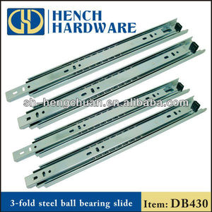 Full Extension Ball Bearing Telescopic Drawer Channel