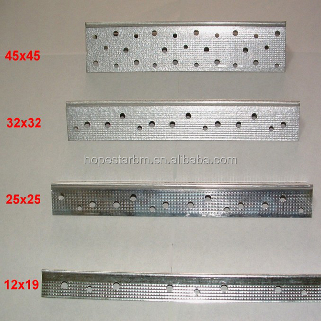 Galvanized Corner Bead/Partition Steel Profile/Drywall Wall Angle