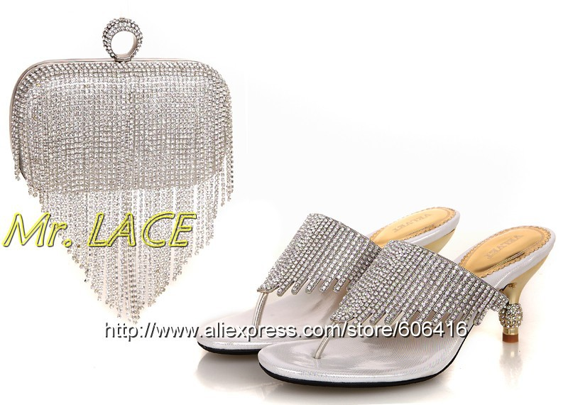 S4047 New arrival shoes and bags for woman with dress,Italian shoes and bags to match, ladies shoes for wedding/party,